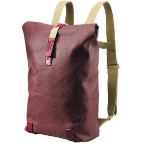 Brooks Pickwick Canvas fietsrugzak Small 12l rood